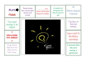 Forms of Energy Review Game