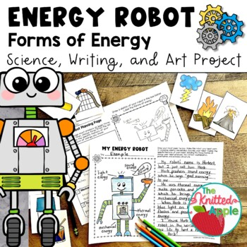 Forms of Energy Robot Project by The Knitted Apple