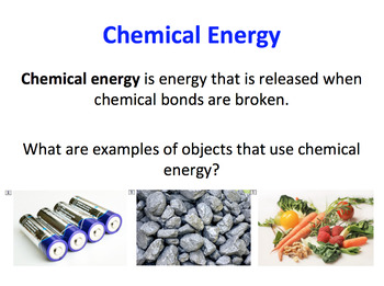 Forms of Energy SMART notebook presentation