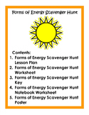 Forms of Energy Scavenger Hunt