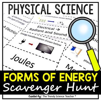 Forms of Energy Scavenger Hunt