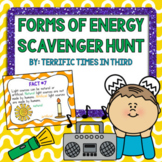 Forms of Energy Scavenger Hunt (Light and Sound)