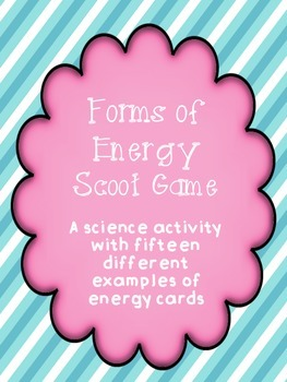 Forms of Energy Scoot Game
