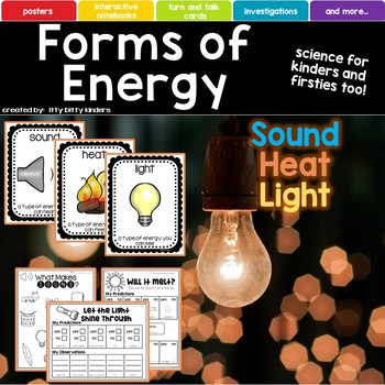 Forms of Energy, Sound, Heat, Light