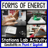 Forms of Energy Stations Lab (FULLY EDITABLE)