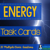 Forms of Energy Vocabulary Task Cards