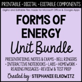 Forms of Energy Unit Bundle