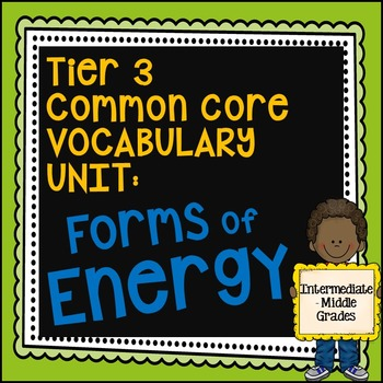 Forms of Energy Unit