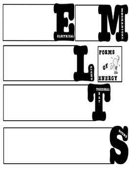 Forms of Energy Word Book