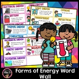 Forms of Energy Word Wall