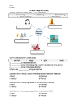 Forms of Energy - Worksheet | Distance Learning