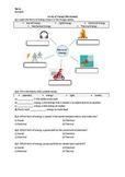 Forms of Energy - Worksheet   Printable and Digital Distan