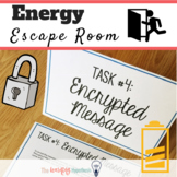 Forms of Energy Worksheet.  Energy Escape Room. Distance L