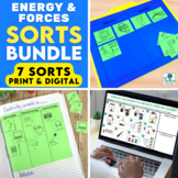 Forms of Energy Sorting Activities