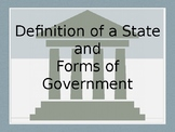 Forms of Government (includes Graphic Organizer)
