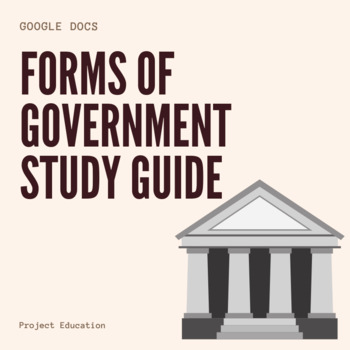 Forms of Government Study Guide - Google Docs