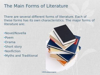 Genre: Types of Genres  PowerPoint