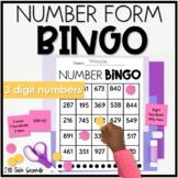Forms of Numbers Bingo- 3 digit numbers
