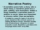 Forms of Poetry Powerpoint