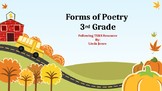 Forms of Poetry for 3rd Grade