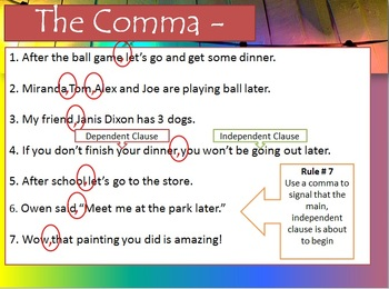 Forms of Punctuation PowerPoint and WS Bundle