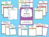 Forms of Writing Interactive Posters