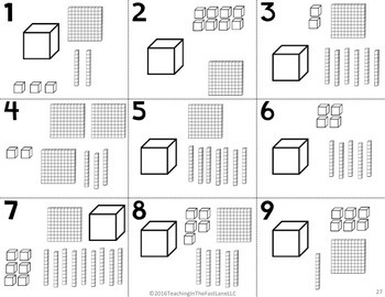 Forms of a Number Math Stations