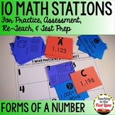 Forms of a Number Stations