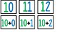 Forms of a number 10-20