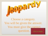 Forms of an Equation Review Jeopardy
