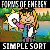 Forms of energy simple sort