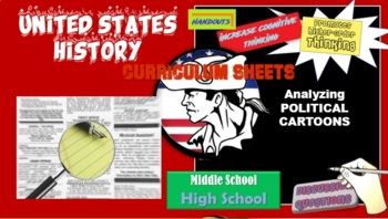 American History /  Analyze Primary Texts, Photos, and Political Cartoons