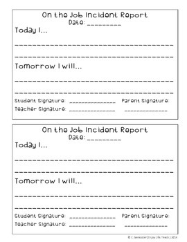 Forms to Inform Parents