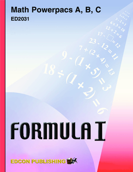 Formula 1 Math Powerpac A Lesson 3, Subtraction Facts through 20
