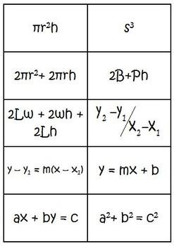 Formula Fusion Card Game (math formulas)
