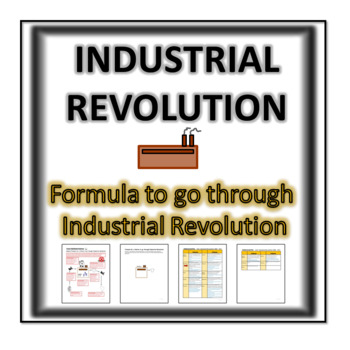 Formula to go through Industrial Revolution