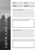 Formulario-Crítica del libro/Book review form