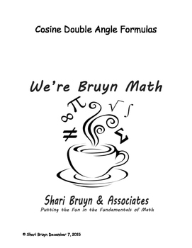 Formulas - Double Angle Cosine