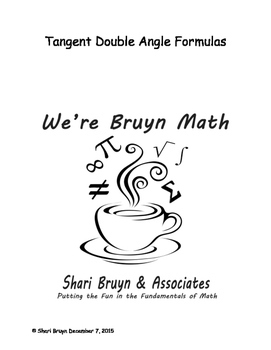 Formulas - Double Angle Tangent