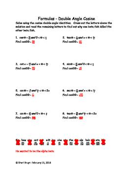 Formulas - Double and Half Angle Bundle