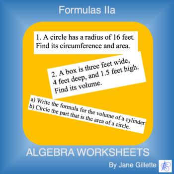 Formulas IIa