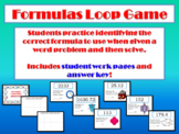 Formula Loop Game: Area of Composite Figures & Circles; Volume-Prisms & Pyramids