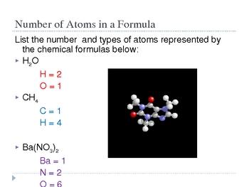 Formulas and Equations