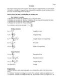 Formulas for a TI83 or TI84