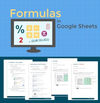 Formulas in Google Sheets