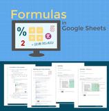 Formulas in Google Sheets