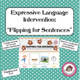 "Formulate sentences using ""Flipping for Sentences"""