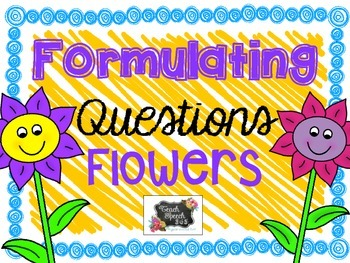 Formulating Question Flowers
