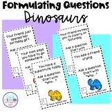 Formulating Questions Dinosaurs