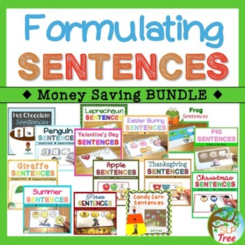 Formulating Sentences Bundle